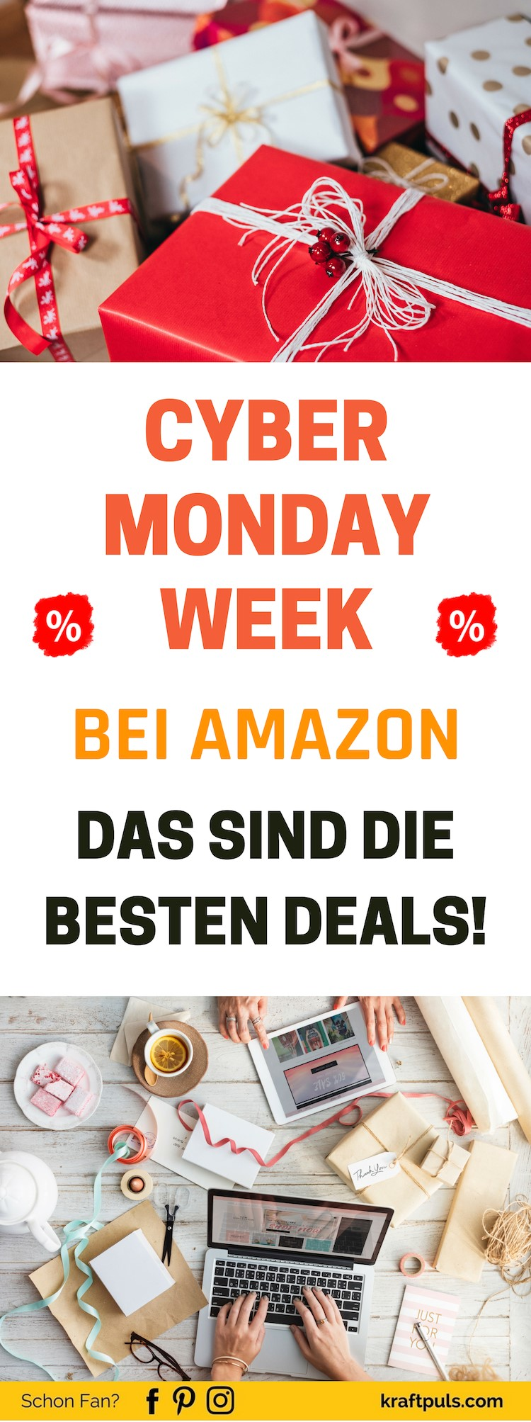 Cyber Monday Week: Geld sparen beim Shoppen bei Amazon